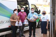 Defensoria faz doações de cestas básicas e kits de higiene para casa de acolhimento de crianças e adolescentes
