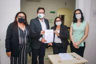 DPE amplia ação do Projeto Oportunizar para Ressocializar firmando parceria com o município de Paço do Lumiar