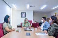 DPE/MA busca fortalecimento da rede de proteção à mulher vítima de violência em Itapecuru
