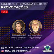 Defensoria Pública usa literatura para sensibilizar público sobre  questão LGBT