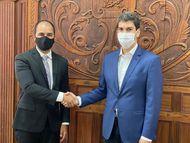 Defensor-geral discute parcerias com o prefeito de São Luís em reunião institucional