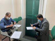 Defensor-geral recebe prefeito de Morros para alinhar parcerias em favor das pessoas mais carentes do munícipio