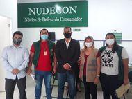Nudecon e Vigilância Municipal discutem parceria para fiscalizações em São Luís