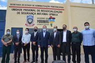 Defensores públicos participam de inauguração de unidade de segurança máxima em São Luís