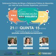 """ESDEP's do Maranhão e e Minas Gerais realizarão webinário sobre """"Comunicação Não Violenta"""""""
