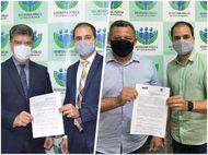Defensoria firma parceria com Pindaré Mirim e Porto Franco para garantir instalação de núcleos regionais nos dois municípios