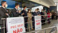 Defensoria repudia PEC 05 em ato de apoio ao Ministério Público maranhense