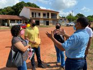 Defensoria dialoga com moradores da comunidade Arraial, na Zona Rural de São Luís