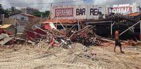 Defensoria move ação para indenizar comerciantes que tiveram bares derrubados na praia do Olho D'Água