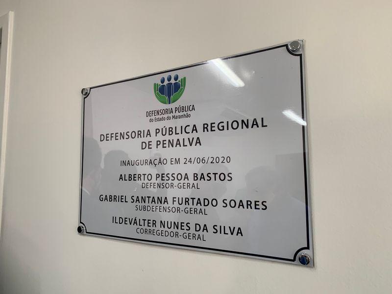 Inauguração do Núcleo Regional de Penalva IV
