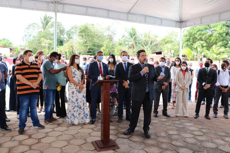 INAUGURAÇÃO NÚCLEO REGIONAL DE MORROS I