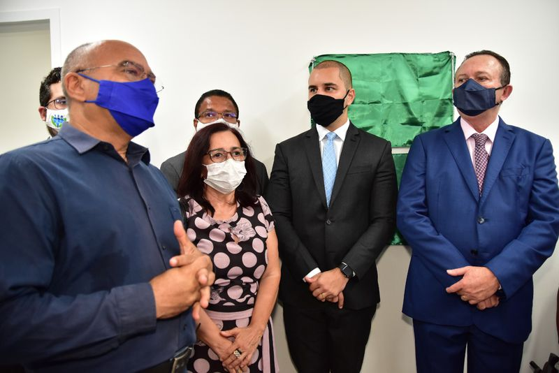 Inauguração das novas instalações do Núcleo do Idoso, Pessoa com Deficiência e da Saúde