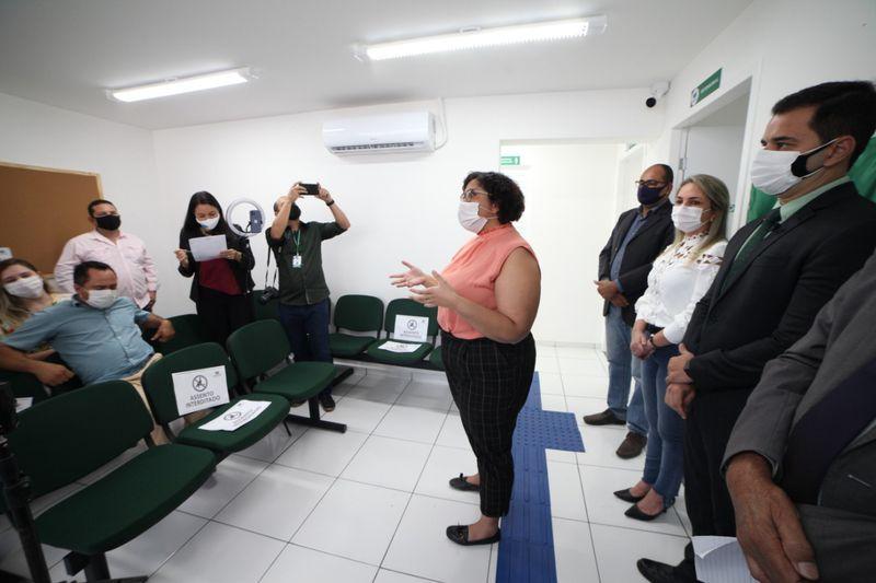 INAUGURAÇÃO NÚCLEO REGIONAL DE GRAJAÚ