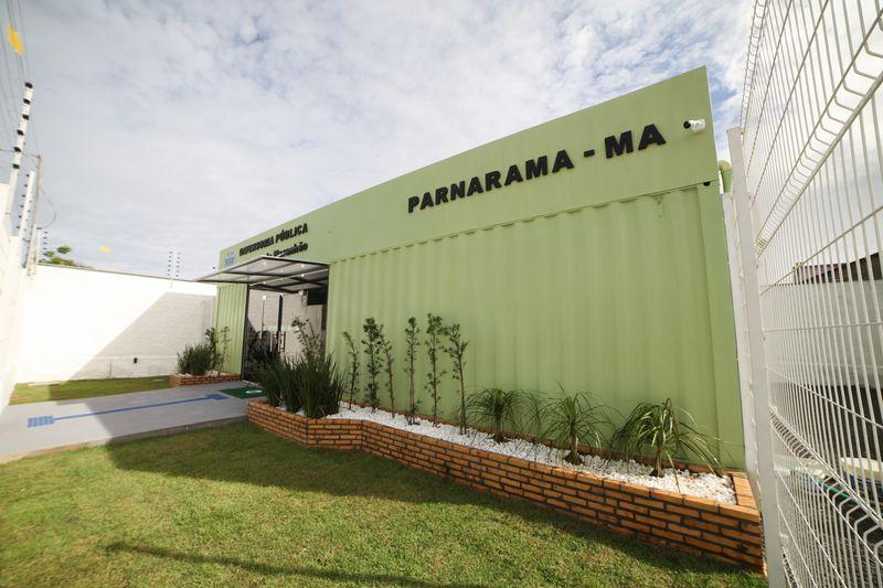 INAUGURAÇÃO NÚCLEO REGIONAL DE PARNARAMA